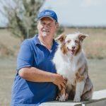 Martin Gartner mit Hund Muffin